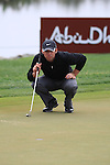 Paul Casey on the 9th on day two of the Abu Dhabi HSBC Golf Championship 2011, at the Abu Dhabi golf club, UAE. 21/1/11..Picture Fran Caffrey/www.golffile.ie.