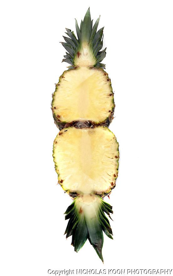 Pineapple still life.