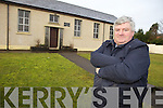 KEEP IT IN THE COMMUNITY: Pat O'Shea from Castlegregory along with locals is angry that the old Aughasla School is to be sold.