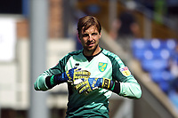 Tim Krul of Norwich City during Birmingham City vs Norwich City, Sky Bet EFL Championship Football at St Andrews on 4th August 2018