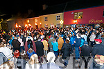 Huge crowds attend the New Years Eve Party in Portmagee.