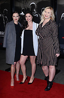 BURBANK, CA - FEBRUARY 05: Francesca Eastwood, Morgan Eastwood, Kathryn Eastwood at the Premiere Of Warner Bros. Pictures' 'The 15:17 To Paris' at Steven J. Ross Theater/Warner Bros Studios Lot on February 5, 2018 in Burbank, California. <br /> CAP/MPI/DE<br /> &copy;DE//MPI/Capital Pictures