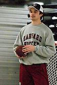 Ryan Carroll (Harvard - 35) - The Boston University Terriers defeated the visiting Harvard University Crimson 5-2 on Saturday, January 15, 2011, at Agganis Arena in Boston, Massachusetts.
