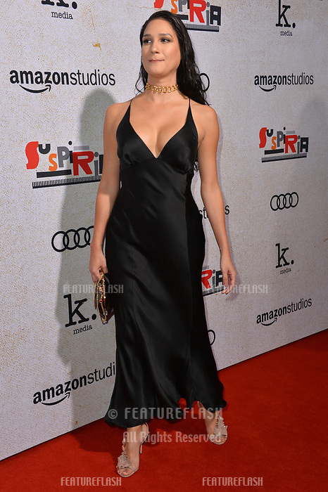 LOS ANGELES, CA. October 24, 2018: Nomi Ruiz at the Los Angeles premiere for &quot;Suspiria&quot; at the Cinerama Dome.<br /> Picture: Paul Smith/Featureflash