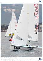 Hyeres, France, 20130427: ISAF SAILING WORLD CUP - approx 900 sailors compete in all the Olympic boat classes at the last event on the 2012/2013 World Cup. 470 W - USA - Annie Haeger / Briana Provancha. Photo: Mick Anderson/SAILINGPIX..Note: High-res TIFFs availble upon request.