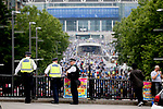 Police watch over Wembley Way before the SkyBet Championship Play Off Final match at the Wembley Stadium, England. Picture date: May 29th, 2017.Picture credit should read: Matt McNulty/Sportimage