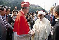 - the Archbishop of Milan, Cardinal Carlo Maria Martini takes part to 7th peace meeting of world religions (September 1993)....- l' Arcivescovo di Milano, Cardinale Carlo Maria Martini partecipa al 7o incontro di pace fra le religioni del mondo (settembre 1993)..