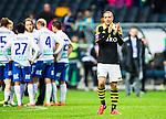 ***BETALBILD***  <br /> Solna 2015-05-10 Fotboll Allsvenskan AIK - IFK Norrk&ouml;ping :  <br /> AIK:s Kenny Pavey ser nedst&auml;md ut efter matchen mellan AIK och IFK Norrk&ouml;ping <br /> (Foto: Kenta J&ouml;nsson) Nyckelord:  AIK Gnaget Friends Arena Allsvenskan IFK Norrk&ouml;ping depp besviken besvikelse sorg ledsen deppig nedst&auml;md uppgiven sad disappointment disappointed dejected