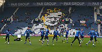 Preston North End players during the pre-match warm-up <br /> <br /> Photographer Stephen White/CameraSport<br /> <br /> The EFL Sky Bet Championship - Preston North End v Hull City - Wednesday 26th December 2018 - Deepdale Stadium - Preston<br /> <br /> World Copyright &copy; 2018 CameraSport. All rights reserved. 43 Linden Ave. Countesthorpe. Leicester. England. LE8 5PG - Tel: +44 (0) 116 277 4147 - admin@camerasport.com - www.camerasport.com