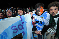 Fans at the 2019 Super Rugby final between the Crusaders and Jaguares at Orangetheory Stadium in Christchurch, New Zealand on Saturday, 6 July 2019. Photo: Dave Lintott / lintottphoto.co.nz