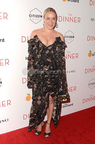 BEVERLY HILLS, CA - MAY 1: Chloe Sevigny at The Dinner Los Angeles Premiere at the WGA Theater in Beverly Hills, California on May 1, 2017. Credit: David Edwards/MediaPunch