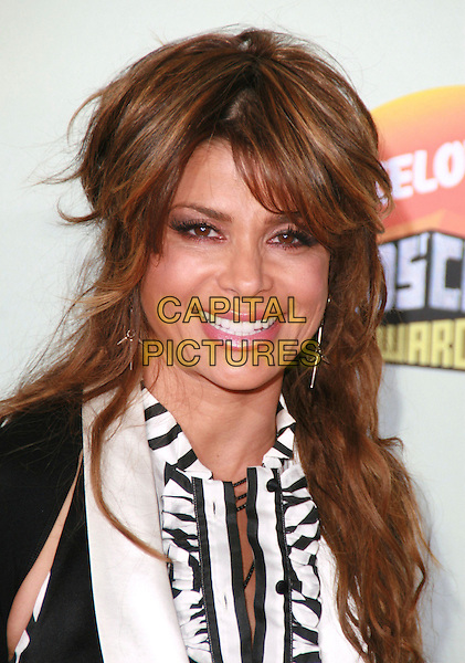 PAULA ABDUL.20th Annual Nickelodeon Kids' Choice Awards held at UCLA's Pauley Pavilion, Westwood, California, USA..March 31st, 2007.headshot portrait .CAP/ADM/CH.©Charles Harris/AdMedia/Capital Pictures
