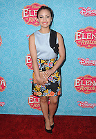 "16 July 2016 - Beverly Hills, California. Aimee Carrero. Arrivals for the Los Angeles VIP screening for Disney's ""Elena of Avalor"" held at Paley Center for Media. Photo Credit: Birdie Thompson/AdMedia"