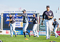 (2L-R) Ichiro Suzuki, Masahiro Tanaka (Yankees),<br /> FEBRUARY 23, 2014 - MLB :<br /> New York Yankees spring training camp at George M. Steinbrenner Field in Tampa, Florida, United States. (Photo by Thomas Anderson/AFLO) (JAPANESE NEWSPAPER OUT)