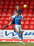 12.05.2018 St Johnstone v Ross County: Marcus Fraser and George Williams