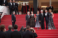 Emily Stofle, David Lynch, Kyle MacLachlan and Desiree Gruber attend  the premiere for 'Twin Peaks' at the 70th Festival de Cannes. <br /> May 25, 2017 Cannes, France<br /> Picture: Kristina Afanasyeva / Featureflash