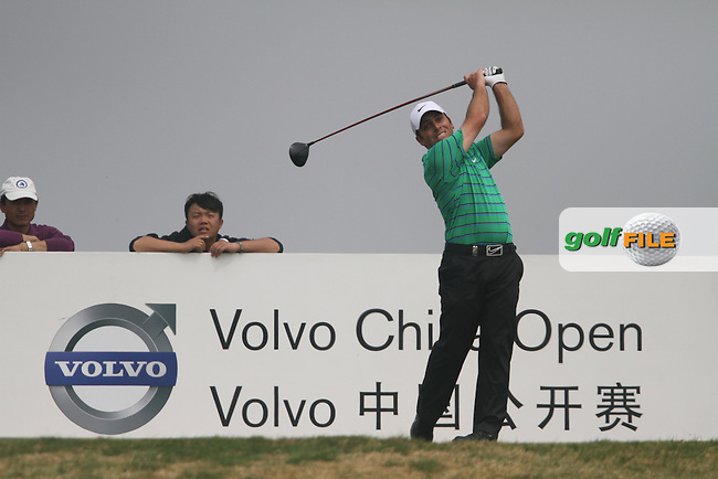Francesco Molinari (ITA) on the 5th on the Final Day of the 2012 Volvo China Open at Binhai Lake Golf Club, Tianjin, China...(Photo Jenny Matthews/www.golffile.ie)