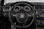 Car pictures of steering wheel view of a 2015 Volkswagen Golf Alltrack 5 Door Wagon Steering Wheel