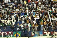 BUENOS AIRES, ARGENTINA, 07 MARCO 2012 - Torcedores do Fluminense durante jogo entre Boca Juniors x Fluminense, válido pela fase de grupos da Copa Santander Li9bertadores 2012, realizado no estádio La Bombonera.FOTO: JUANI RONCORONI - BRAZIL PHOTO PRESS.