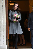 MAR 19 Catherine Duchess of Cambridge visit to the Foundling Museum, London