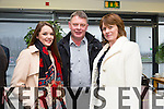 Fiona O'Sullivan (Tipperary County Matters), Declan O'Sullivan (Tipperary County Matters), Liz O'Sullivan (Tipperary County Matters) at the official launch of Munster Regional Office of Irish TV at the HCT Building IT Tralee North Campus on Monday