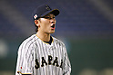 Hayato Sakamoto (JPN), <br /> MARCH 14, 2017 - WBC : 2017 World Baseball Classic Second Round Pool E Game between Japan 8-5 Cuba at Tokyo Dome in Tokyo, Japan. <br /> (Photo by Sho Tamura/AFLO SPORT)