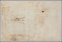 BNPS.co.uk (01202 558833)<br /> Pic: SalonduDessin/BNPS<br /> <br /> An extraordinary lost drawing by Leonardo Da Vinci valued at &pound;12million has been discovered 530 years after the Italian master produced it.<br /> <br /> The work was found hidden in a portfolio of anonymous sketches inherited by a retired doctor who had no idea it was inside.<br /> <br /> It was only when he took the drawings to an auction house for valuation that the previously unknown Da Vinci drawing was revealed.<br /> <br /> The drawing, measuring about 7.5ins by 5ins, depicts the martyred St Sebastian tied to a tree. It is inscribed 'Michelange' (Michelangelo) on the mount.