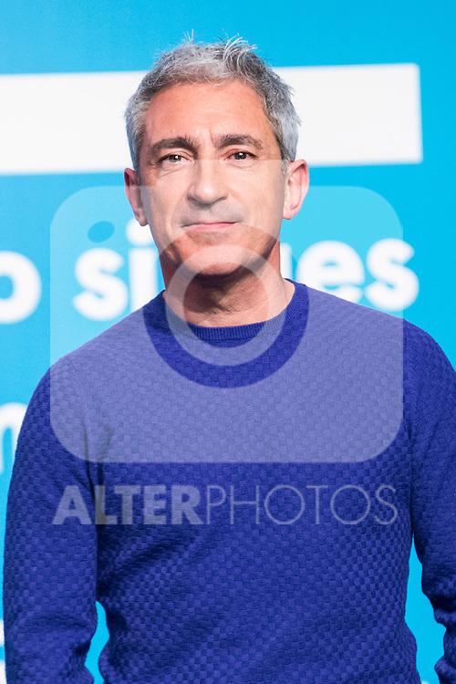 Jon Sistiaga on the first anniversary of broadcast of #0 television network of the Movistar + group in Madrid, Spain. January 30th 2017. (ALTERPHOTOS/Rodrigo Jimenez)