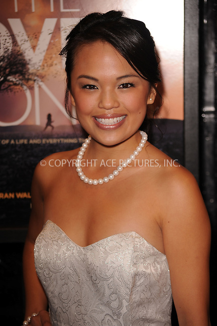 WWW.ACEPIXS.COM . . . . . ....December 2 2009, New York City....Actress Nikki SooHoo arriving at the 'The Lovely Bones' premiere at the Paris Theatre on December 2, 2009 in New York City.....Please byline: KRISTIN CALLAHAN - ACEPIXS.COM.. . . . . . ..Ace Pictures, Inc:  ..(212) 243-8787 or (646) 679 0430..e-mail: picturedesk@acepixs.com..web: http://www.acepixs.com