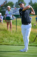 Martin Kaymer (DEU) watches his tee shot on 12 during Thursday's round 1 of the 117th U.S. Open, at Erin Hills, Erin, Wisconsin. 6/15/2017.<br /> Picture: Golffile | Ken Murray<br /> <br /> <br /> All photo usage must carry mandatory copyright credit (&copy; Golffile | Ken Murray)