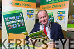 Tralee Mayor Jim Finucane launches the Kerry Gathering Year Book 2013 at the Wetlands on Monday