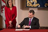 King Felipe VI of Spain and Queen Letizia.