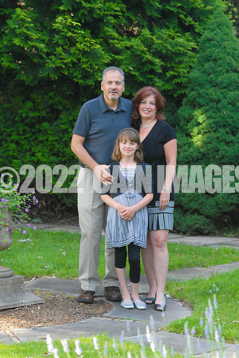 DOYLESTOWN, PA - JUNE 14: The Picone family is photographed June 14, 2012 in Doylestown, Pennsylvania. (Photo by William Thomas Cain/Cain Images)