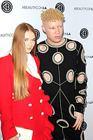 LOS ANGELES - AUG 12: Larsen Thompson, Shaun Ross at the 5th Annual BeautyCon Festival Los Angeles at the Convention Center on August 12, 2017 in Los Angeles, California