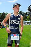 GER - Maxdorf, Germany, June 14: After the 12. Maxdorfer Triathlon on June 14, 2015 at TSG Maxdorf in Maxdorf, Germany. (Photo by Dirk Markgraf / www.265-images.com) *** Local caption *** Julian Beuchert #5 (LAZ Triathlon Mosbach)