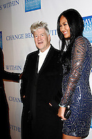 LOS ANGELES, CA - DEC 3: David Lynch, Kimora Lee at the 3rd Annual 'Change Begins Within' Benefit Celebration presented by The David Lynch Foundation held at LACMA on December 3, 2011 in Los Angeles, California
