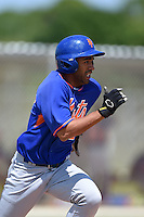 New York Mets Raphael Ramirez (2) during a minor league spring training game against the St. Louis Cardinals on April 1, 2015 at the Roger Dean Complex in Jupiter, Florida.  (Mike Janes/Four Seam Images)