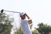 Chris Wood (ENG) in action on the 6th during Round 1 of the Hero Indian Open at the DLF Golf and Country Club on Thursday 8th March 2018.<br /> Picture:  Thos Caffrey / www.golffile.ie<br /> <br /> All photo usage must carry mandatory copyright credit (&copy; Golffile | Thos Caffrey)