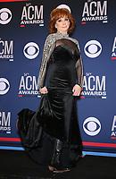 07 April 2019 - Las Vegas, NV - Reba McEntire. 54th Annual ACM Awards Press Room at MGM Grand Garden Arena. Photo Credit: MJT/AdMedia