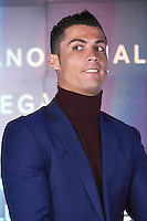 "03 March 2016 - Madrid, Spain - Cristiano Ronaldo during the launch of his fragrance ""Ronaldo Legacy"" at Barajas International airport. Photo PPE/face to face/AdMedia"