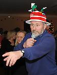 Compere John McEvoy pictured at the annual Teach Raithneach ceilí. Photo: Colin Bell/pressphotos.ie