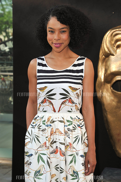 Sophie Okonedo arriving for the BAFTA TV Awards 2012 at the Royal Festival Hall, South Bank, London. 27/05/2012 Picture by: Steve Vas / Featureflash