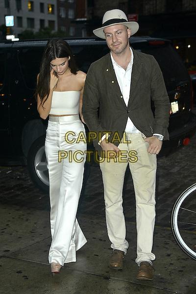 NEW YORK, NY - SEPTEMBER 10:  Emily Ratajkowski and boyfriend Jeff Magid seen in New York City on September 10, 2015.  <br /> CAP/MPI67<br /> &copy;MPI67/Capital Pictures