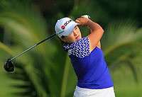 Ha Na Jang (KOR) in action on the 2nd during Round 3 of the HSBC Womens Champions 2018 at Sentosa Golf Club on the Saturday 3rd March 2018.<br /> Picture:  Thos Caffrey / www.golffile.ie<br /> <br /> All photo usage must carry mandatory copyright credit (&copy; Golffile   Thos Caffrey)
