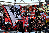 Milan supporter chher on ahead the Serie A 2018/2019 football match between Frosinone and AC Milan at stadio Benito Stirpe, Frosinone, December, 26, 2018 <br />  Foto Andrea Staccioli / Insidefoto