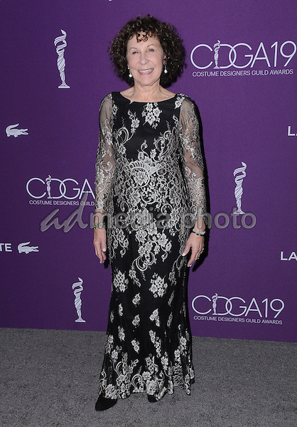 21 February 2017 - Beverly Hills, California - Rhea Pearlman.  19th Costume Designers Guild Awards held at The Beverly Hilton Hotel. Photo Credit: Birdie Thompson/AdMedia