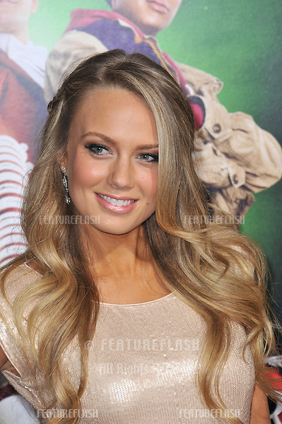 "Melissa Ordway at the Los Angeles premiere of her new movie ""A Very Harold & Kumar 3D Christmas"" at Grauman's Chinese Theatre, Hollywood..November 2, 2011  Los Angeles, CA.Picture: Paul Smith / Featureflash"