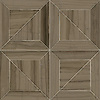 Truman, a stone waterjet mosaic  shown in Driftwood, is part of the Parquet Line by New Ravenna.
