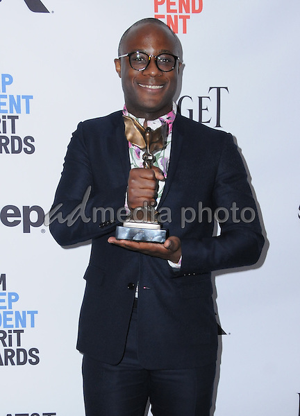 25 February 2017 - Santa Monica, California - Barry Jenkins. 2017 Film Independent Spirit Awards held held at the Santa Monica Pier. Photo Credit: Birdie Thompson/AdMedia