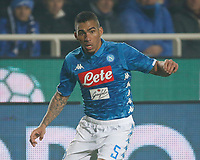 Miguel Allan of Napoli  during the  italian serie a soccer match,Atalanta - SSC Napoli at  the Atleti azure d'italia   stadium in Bergamo Italy , December 03, 2018
